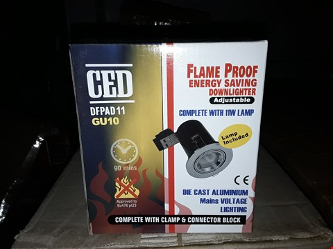 Lot 645 CED - DFPAD11/ GU10 FLAME PROOF ENERGY SAVING DOWN LIGHTER