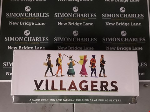 Lot 582 BOXED VILLAGERS THE CARD GAME