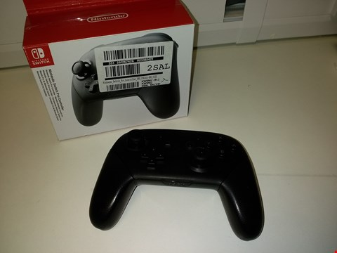 Lot 2170 NINTENDO SWITCH PRO CONTROLLER NO CABLES RRP £55.00