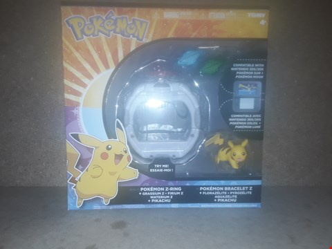 Lot 406 BOXED BRAND NEW POKEMON Z-RING BRACELET