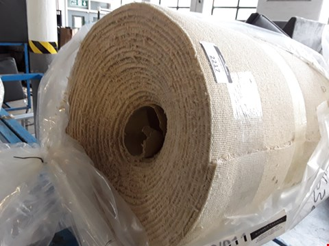 Lot 2217 ROLL OF VARIETY TRIALS BEIGE CARPET - MEASURES APPROXIMATELY 10M X UNSPECIFIED