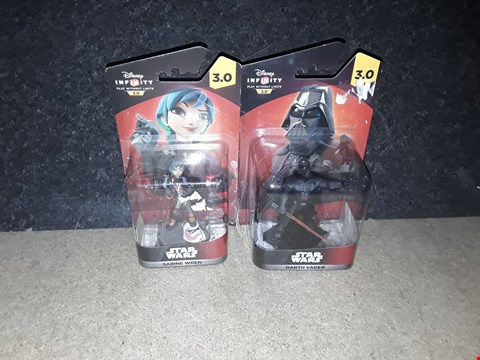Lot 3080 STARWARS DISNEY INFINITY FIGURES INCLUDING SABINE WREN DARTH VADER