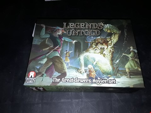 Lot 2056 LEGENDS UNTOLD THE GREAT SEWERS NOVICE SET
