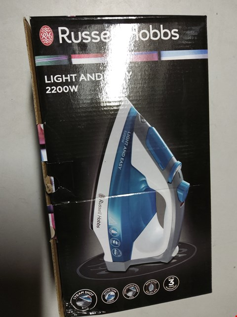Lot 2029 RUSSELL HOBBS LIGHT AND EASY  2200W IRON