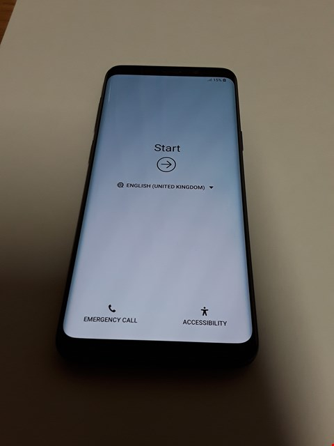 Lot 11170 SAMSUNG GALAXY S9 64GB MOBILE PHONE - CORAL BLUE