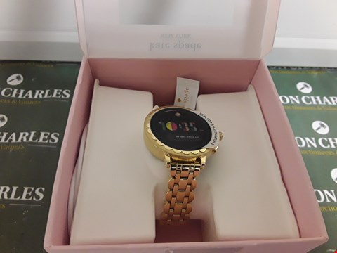 Lot 2339 KATE SPADE NEW YORK FULL DISPLAY SCALLOP SMARTWATCH  RRP £430.00