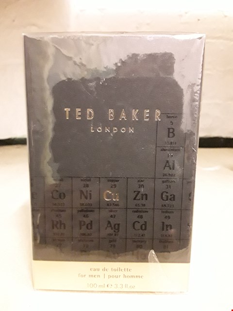 Lot 11043 BOXED TED BAKER CU EDT FOR MEN 100ML