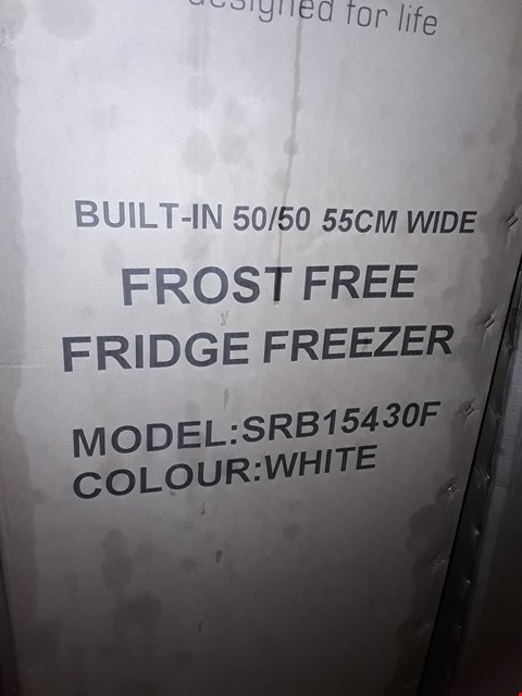 Lot 10066 SWAN SRB15430 INTEGRATED FRIDGE FREEZER RRP £279.00