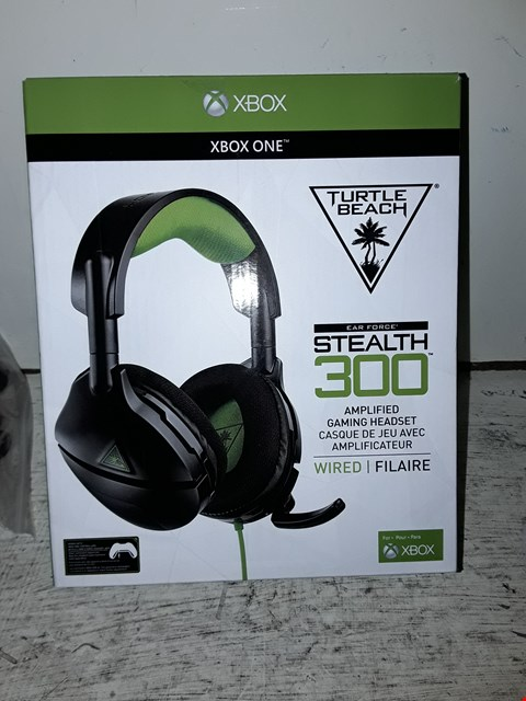 Lot 100 TURTLE BEACH STEALTH 300 AMPLIFIED GAMING HEADSET