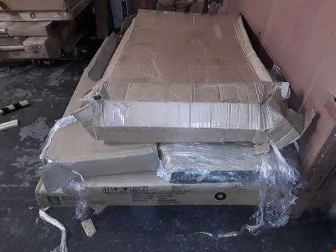 Lot 17392 PALLET OF APPROXIMATELY 6 ASSORTED FLAT PACK FURNITURE ITEMS TO INCLUDE BED FRAME PARTS