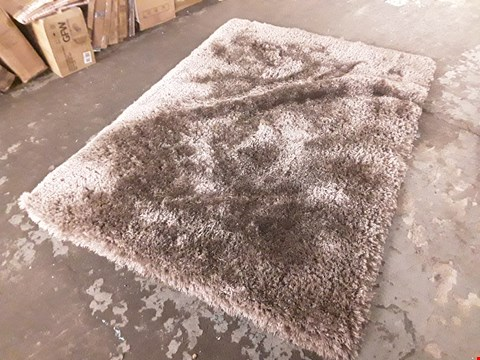 Lot 7024 DESIGNER BROWN RECTANGULAR RUG