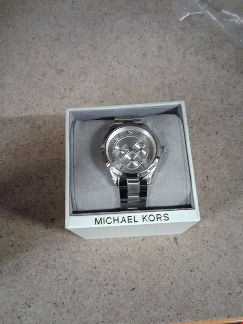 Lot 38 MICHAEL KORS RUNWAY STAINLESS STEEL WATCH  RRP £300