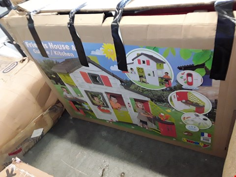 Lot 225 BOXED SMOBY FRIENDS HOUSE AND KITCHEN
