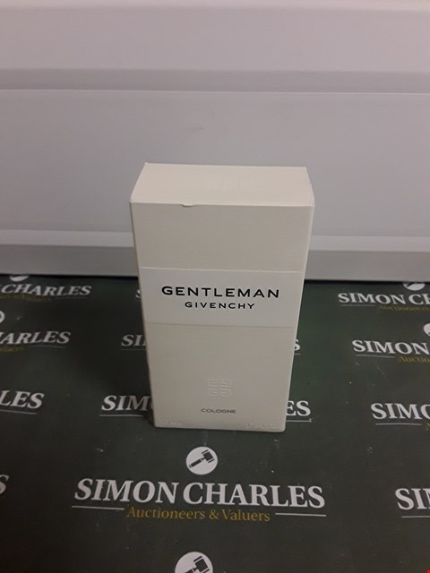 Lot 2211 GIVENCHY GENTLEMAN COLOGNE 50ML RRP £59.00