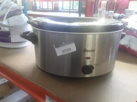 Lot 414 SWAN SF11041 5.5 LITRE SLOW COOKER  RRP £40