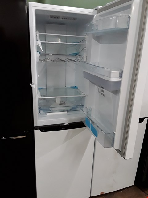 Lot 12058 HISENSE RB335N4WW1 WHITE FRIDGE FREEZER WITH WATER DISPENSER  RRP £339.00