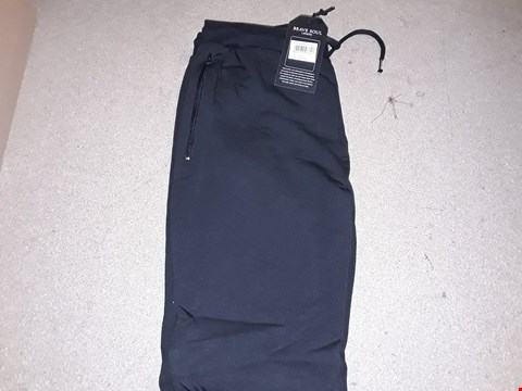 Lot 126 BOX OF APPROXIMATELY 8 PAIRS OF BRAVE SOUL LARGE BLACK JOGGERS