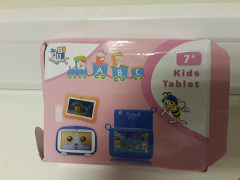 """Lot 4573 BOXED 7"""" KIDS TABLET WITH PROTECTIVE CASE"""