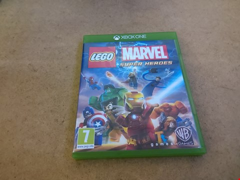 Lot 2571 XBOX ONE LEGO MARVEL SUPER HEROES GAME
