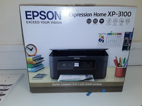 Lot 115 EPSON EXPRESSION HOME XP-3100 PRINTER