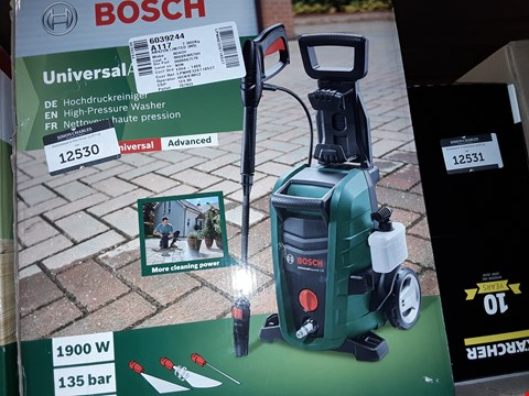 Lot 12530 BOSCH UNIVERSAL AQUATAK 135 PRESSURE WASHER