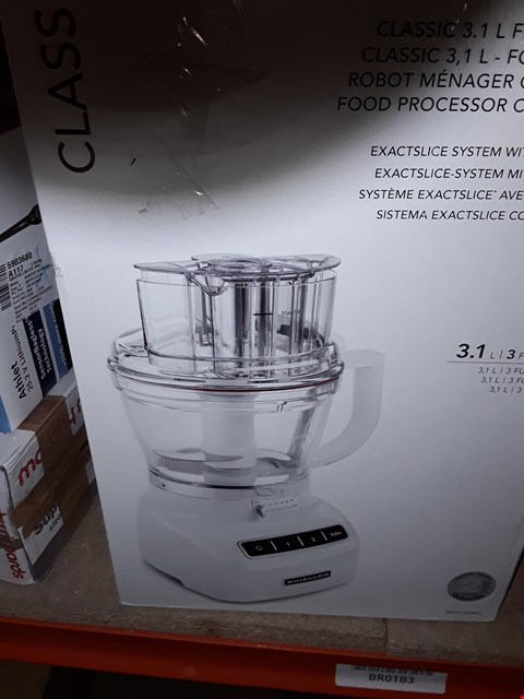 Lot 3233 KITCHEN AID FOOD PROCESSOR CLASSIC 3.1L