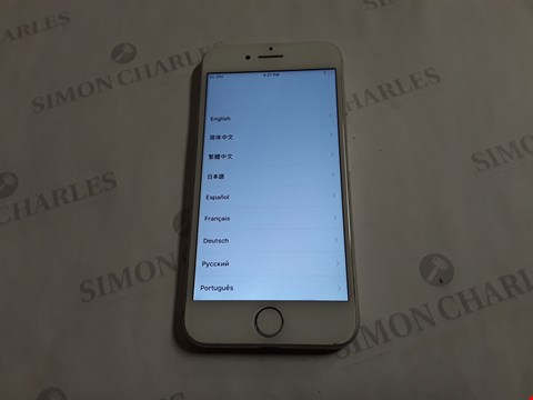 Lot 8043 APPLE IPHONE 7 128GB IN SILVER - A1778