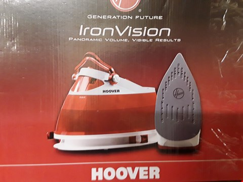 Lot 459 HOOVER IRON VISION STEAM IRON