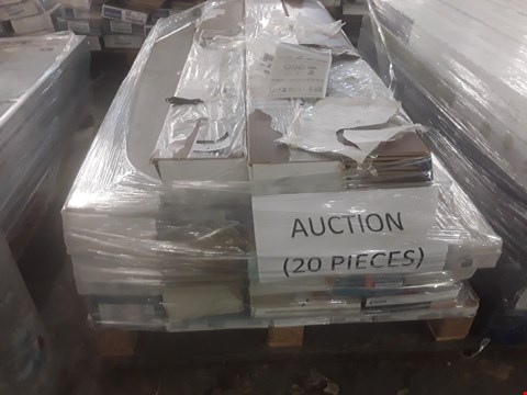 Lot 90 PALLET OF APPROXIMATELY 20 PACKS OF LAMINATE FLOORING