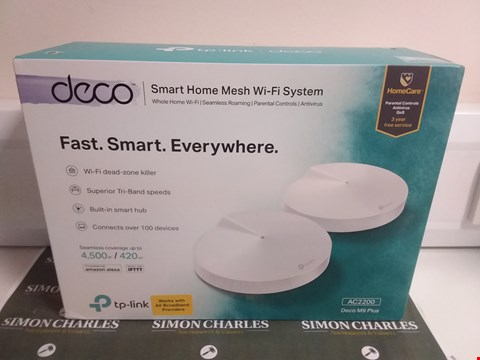 Lot 4666 DECO SMART HOME MESH WIFI SYSTEM