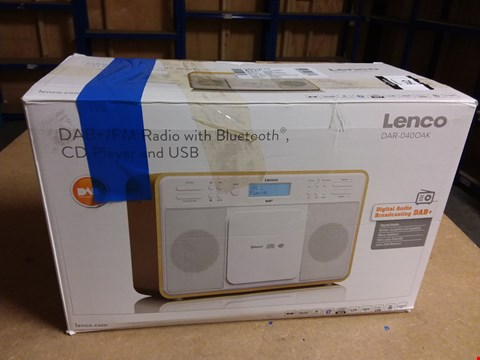 Lot 942 LENCO CD PLAYER AND USB WITH BLUETOOTH