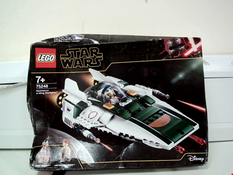 Lot 8010 LEGO STAR WARS 75248 RESISTANCE A-WING STARFIGHTER AND LEGO STAR WARS 75183 DARTH VADER TRANSFORMATION SETS