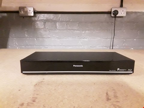 Lot 2110 PANASONIC DMR-PWT55P BLU RAY DISK PLAYER AND HDD RECORDER