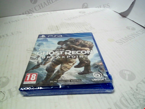 Lot 5542 GHOST RECON BREAKPOINT PS4 RRP £49.99
