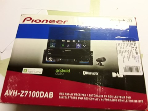 Lot 5020 PIONEER Z710 TUNER 1DIN CAR RADIO, DAB + DIGITAL RADIO