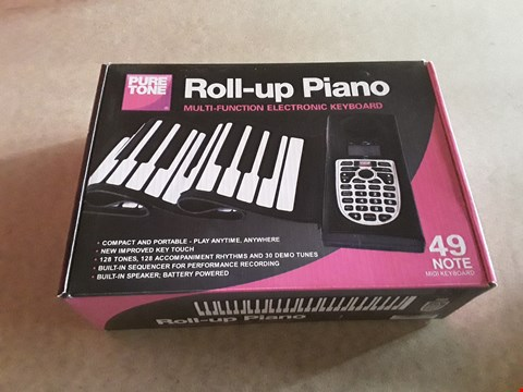 Lot 10 BOXED PURE TONE ROLL-UP PIANO
