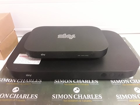 Lot 1588 SKY SET TOP BOX AND ROUTER