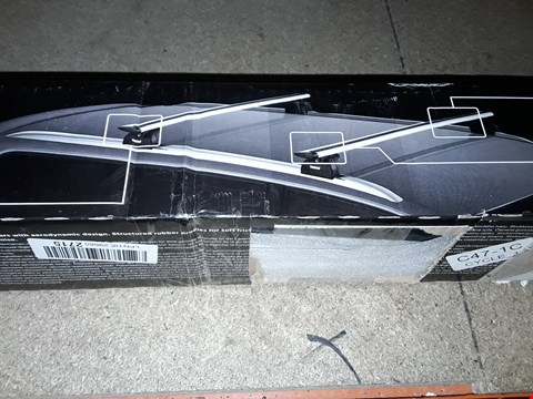 Lot 1218 THULE WING BAR EDGE ROOF RACK