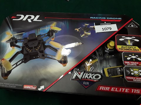 Lot 1079 REMOTE CONTROL DRONE RACING LEAGUE AIR ELITE 115 RRP £63