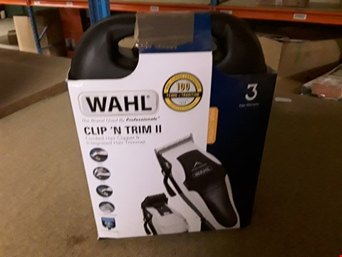 Lot 245 WAHL CLIP N TRIM 2 CORDED HAIR CLIPPER & TRIMMER
