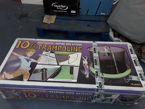 Lot 26 SPORTS POWER 10FT TRAMPOLINE