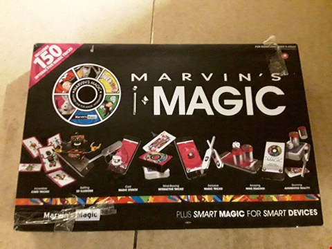 Lot 6124 BOXED MARVIN'S IMAGIC FOR ASPIRING MAGICIANS