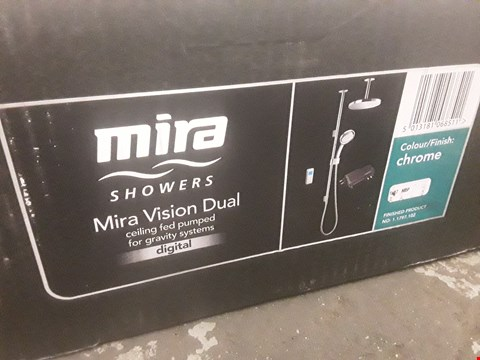 Lot 1 BOXED MIRA VISION DUAL CEILING FED DIGITAL SHOWER  RRP £700
