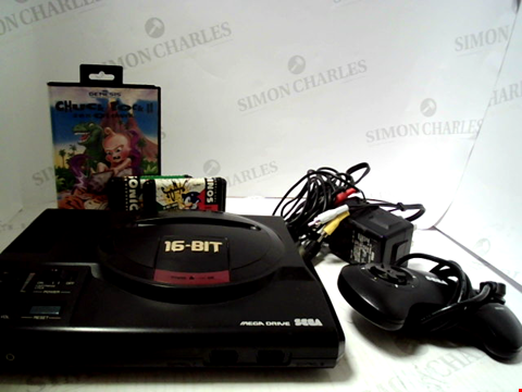 Lot 5237 SEGA MEGA DRIVE GAMES CONSOLE