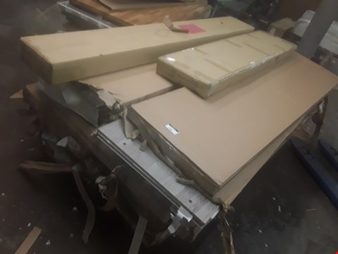 Lot 282 PALLET OF ASSORTED FLAT PACK FURNITURE BOXES