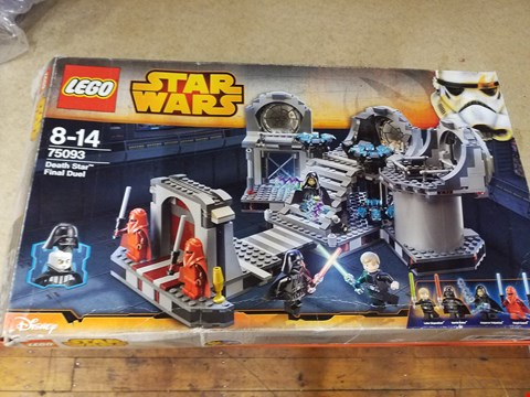 Lot 2001 A BOXED LEGO STAR WARS DEATH STAR FINAL DUEL SET