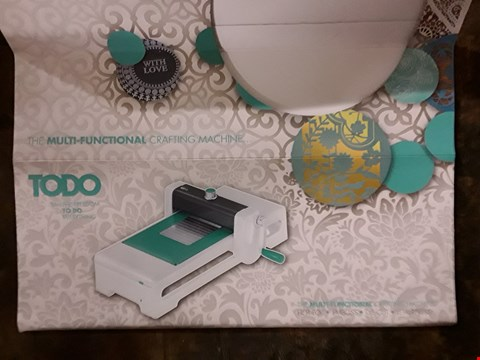 Lot 2711 BOXED TODO MULTI-FUNCTIONAL CRAFTING MACHINE