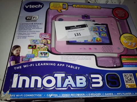 Lot 131 VTECH THE WI-FI LEARNING APP TABLET INNOTAB 3S