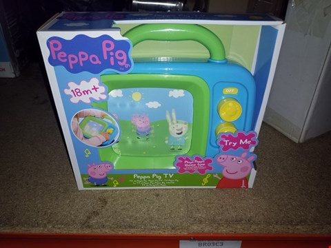 Lot 494 GRADE 1 SO SLIME CASE NEON AND PEPPA PIG MY FIRST TV RRP £41.00