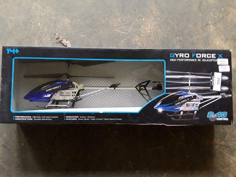 Lot 7434 GYRO FORCEX HELICPOTER